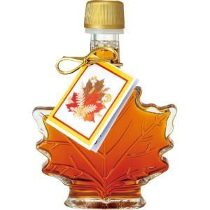 カナダ カエデ形 ミニ メープルシロップ  メープルリーフ カナダ土産|bisho