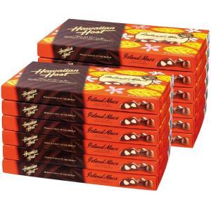 ハワイ  ハワイアンホースト マカデミアナッツチョコレート 12箱セット (袋付) ハワイ定番 bisho