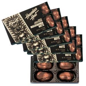 ハワイ ハワイアンホースト マカデミアナッツ チョコレート TIKI  5箱セット  ハワイ定番 bisho