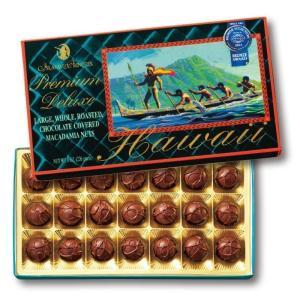 ハワイ ラージマカデミア デラックス チョコレート (袋付) ハワイお土産人気No.1  bisho