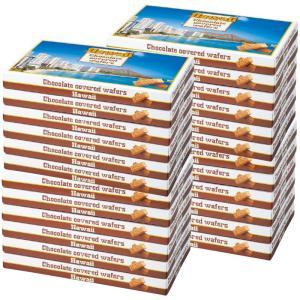 ハワイ チョコウエハース  24箱セット  ハワイ土産 ハワイ定番|bisho