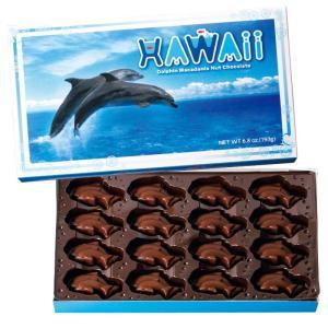 ハワイ イルカ マカデミアナッツチョコレート ハワイみやげ ハワイチョコ bisho