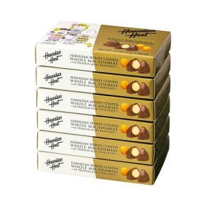 ハワイ スヌーピーファミリー ハワイアンハニー マカデミアナッツチョコレート  6箱セット  ハワイ新商品|bisho