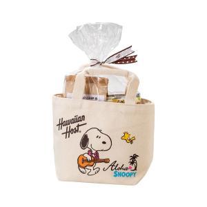 スヌーピー マカデミアナッツ チョコ&クッキー ミニトート付  ハワイ土産 ハワイ人気|bisho