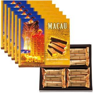 マカオ チョコウエハース 6箱セット マカオ土産 マカオ人気 マカオ箱菓子