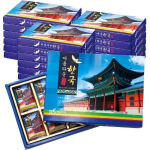 韓国 美しい韓国チョコレート 18箱セット 韓国土産 京福宮 景色 韓国らしい ミルクチョコレート|bisho
