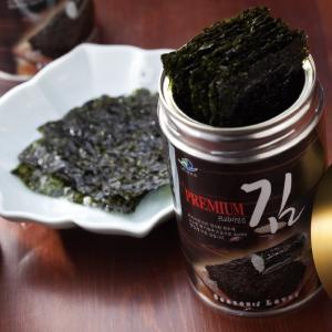 韓国 プレミアム 韓国のり 3缶セット 韓国土産 高級 人気 贈答用|bisho