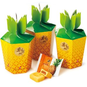 台湾 パイナップル箱入り パイナップルケーキ 3箱セット 台湾お土産 台湾おすすめ bisho