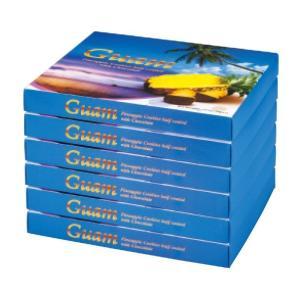 グアム パイナップル チョコレートクッキー 6箱セット グアム土産クッキー パイナップル風味 個別包装 |bisho