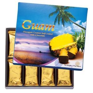 グアム パイナップル チョコレート クッキー グアム土産 チョコクッキー パイナップル菓子|bisho