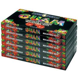 グアム アイランド マカデミアナッツ チョコレート 6箱  グアム土産  マカチョコ グアムブランド |bisho