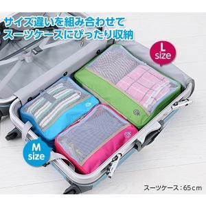 トラベルアース クローズケース Mサイズ (衣類収納 旅行用品 スーツケース収納 衣類ケース)|bisho