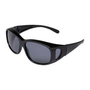 偏光 オーバー サングラス (メガネの上からサングラス 男女兼用 UVカットサングラス)|bisho