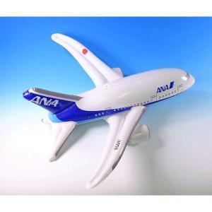 ビニールプレーン ANA [飛行機 風船飛行機 飛行機のおみやげ 子供に人気]|bisho