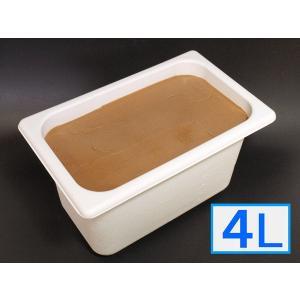 「ジェラートジェラート」業務用・大容量アイスクリーム・チョコレート味 4L(4リットル)|bishokuc