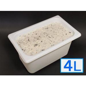 「ジェラートジェラート」業務用・大容量アイスクリーム・チョコチップ味 4L(4リットル)|bishokuc