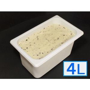 「ジェラートジェラート」業務用・大容量アイスクリーム・チョコミント味 4L(4リットル)|bishokuc