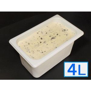 「ジェラートジェラート」業務用・大容量アイスクリーム・ビスコット味 4L(4リットル)|bishokuc