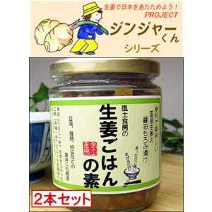 国産しょうが使用!生姜ごはんの素2本セット|bishokuc