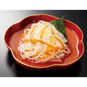 おせち料理・単品 具材 2017 国産大根・人参使用・紅白なます【冷蔵】|bishokuc