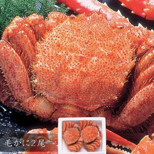 毛がに2尾・北の海鮮めぐりギフト・送料無料|bishokuc