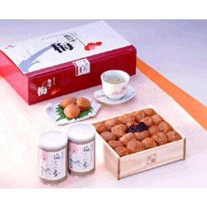 熊平の梅(梅干) 紀州産 梅こぶ茶詰合せ|bishokuc