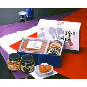 熊平の梅(梅干) 紀州産 珍味詰合せ(珍味 セット)|bishokuc