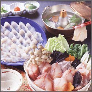 名産鍋セット4人前(あんこうしゃぶしゃぶ・鍋セット)・送料無料|bishokuc