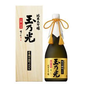 【玉乃光】有機肥料使用 備前雄町100%・純米大吟醸・720ml [日本酒]|bishokuc