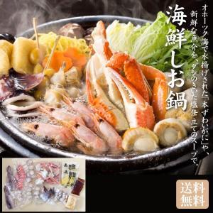 海鮮しお鍋セット「送料無料]|bishokuc