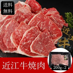 近江牛焼肉 [400g] [送料無料] bishokuc