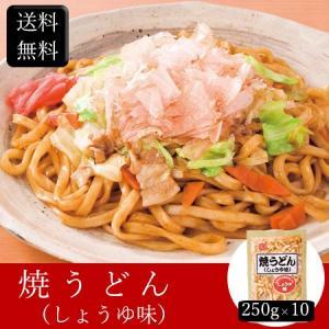 焼うどん(しょうゆ味) [250g×10] [送料無料]|bishokuc