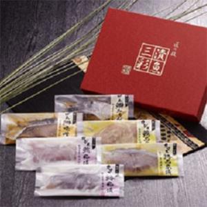 【お歳暮ギフト2018にも!】漬魚三彩(6切)送料無料|bishokuc