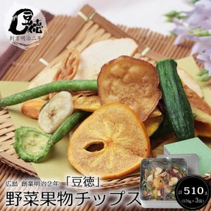 【お歳暮ギフト2017にも!】【創業明治2年豆徳】野菜果物チップス[送料無料]|bishokuc
