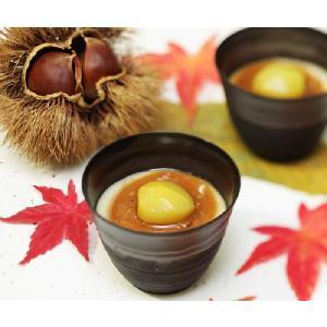 栗菓子『新杵堂』 和栗ブリュレ6個入(和菓子ギフト)|bishokuc