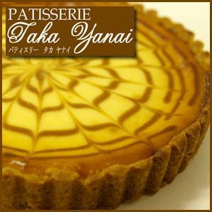 ベイクドチーズケーキ・6号ホール・パティスリー『TakaYanai』スイーツ|bishokuc