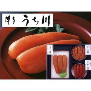 こだわり辛子めんたいこ詰合せ「博多うち川」(明太子・めんたいこ) bishokuc