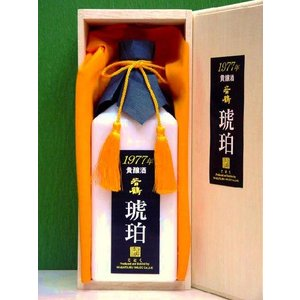 常温便送料無料〜若鶴 貴醸酒【琥珀1977】720ml 日本酒(富山 石川 福井 北陸)〜若鶴酒造(株) お誕生日等のギフトに|bishunomikawaya