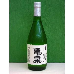 亀泉 吟醸酒 720ml 淡麗辛口、高知県、亀泉酒造(株) バレンタインデー、母の日、父の日、誕生日、御中元等のギフトにも|bishunomikawaya