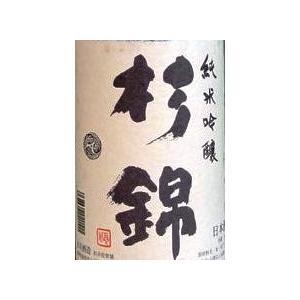 杉錦 純米吟醸酒 720ml 淡麗辛口 日本酒 東海地方 静岡県 杉井酒造|bishunomikawaya