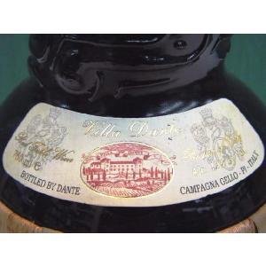 ヴィッラ・ダンテ 【ツイストネックボトルワイン】 750ml イタリア、赤ワイン、ライトボディ|bishunomikawaya|02