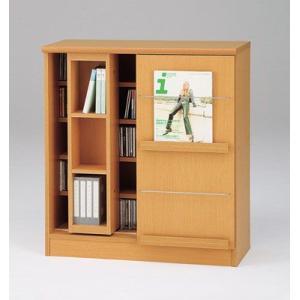 DSP-スライド78(木目)/ディスプレイラック/書棚・飾り棚/マルカ|bismokku