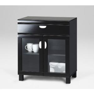 ISP-7060GH(ブラック)/アイ・スペース/食器棚・リビング/マルカ|bismokku