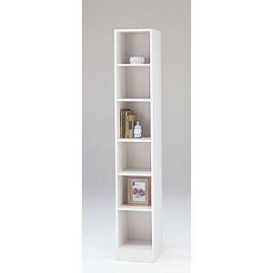 LOF-1830(ホワイト)/ロフティ/書棚・飾り棚/マルカ|bismokku