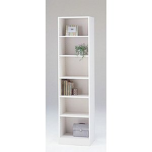 LOF-1845(ホワイト)/ロフティ/書棚・飾り棚/マルカ|bismokku