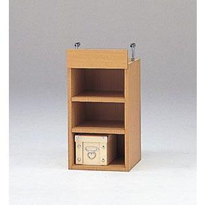 LOF-上置30(木目)/ロフティ/書棚・飾り棚/マルカ|bismokku