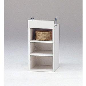 LOF-上置30(ホワイト)/ロフティ/書棚・飾り棚/マルカ|bismokku