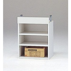 LOF-上置45(ホワイト)/ロフティ/書棚・飾り棚/マルカ|bismokku