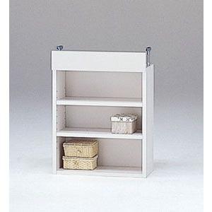 LOF-上置45S(ホワイト)/ロフティ/書棚・飾り棚/マルカ|bismokku