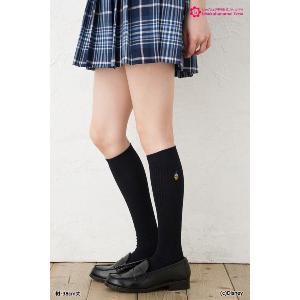 スクールソックス ドナルド 紺・白 38cm丈|bisokuhanamai|05